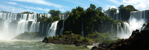 Iguazu Falls Panorama - click for full size version